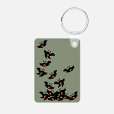 Falling Blackbirds Keychains