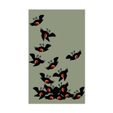 Falling Blackbirds Decal