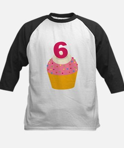 6th Birthday Cupcake Tee