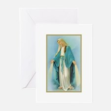 Virgin Mary Greeting Cards (Pk of 10)