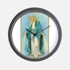 Virgin Mary Wall Clock