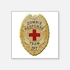 Zombie Response Team Badge Sticker