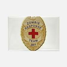 Zombie Response Team Badge Rectangle Magnet (100 p