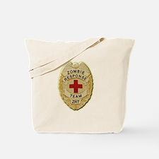 Zombie Response Team Badge Tote Bag