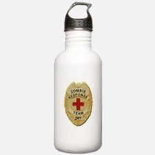 Zombie Response Team Badge Water Bottle