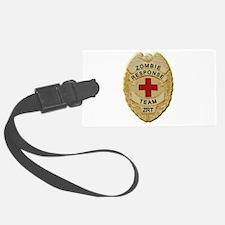 Zombie Response Team Badge Luggage Tag