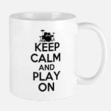 Keep Calm and Play On Mug