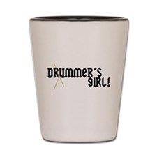 Drummers Girl Shot Glass