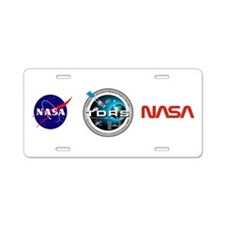 Double Star Aluminum License Plate