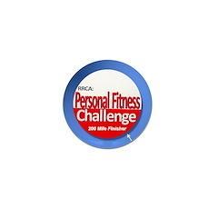 200 Mile Personal Fitness Mini Button