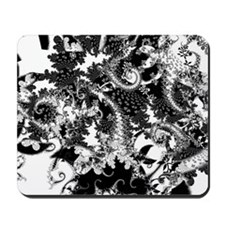Floral in BW Mousepad