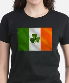 Irish Shamrock Flag Tee