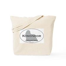 Komondor GRANDMA Tote Bag