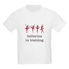 Ballerina in training, pink T-Shirt