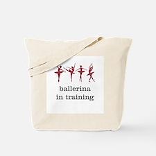 Ballerina in training, pink Tote Bag