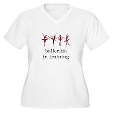 Ballerina in training, pink T-Shirt