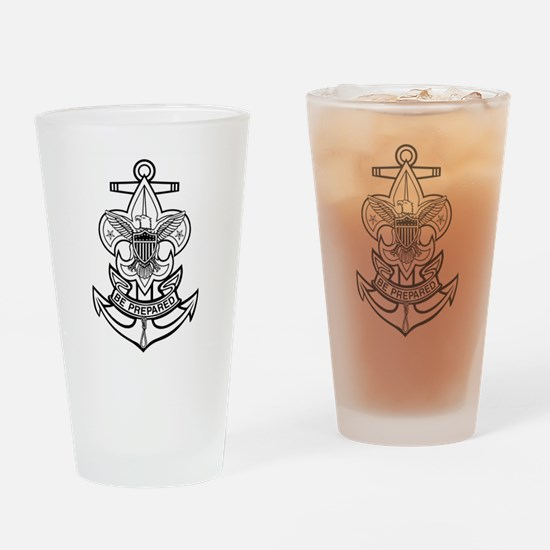 Sea Scout First Class Anchor Drinking Glass
