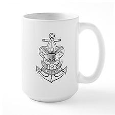 Sea Scout First Class Anchor Mug