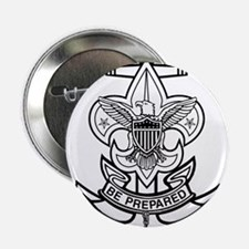 """Sea Scout First Class Anchor 2.25"""" Button"""