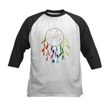 Rainbow DreamCatcher Baseball Jersey