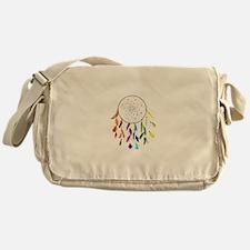 Rainbow DreamCatcher Messenger Bag