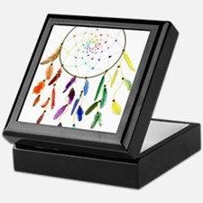 Rainbow DreamCatcher Keepsake Box