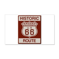 Bagdad Route 66 Wall Decal