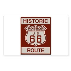 Bagdad Route 66 Sticker