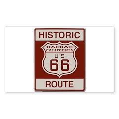 Bagdad Route 66 Decal
