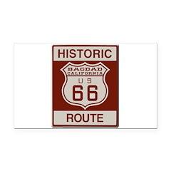 Bagdad Route 66 Rectangle Car Magnet