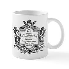 Ukulele Benediction Small Mugs