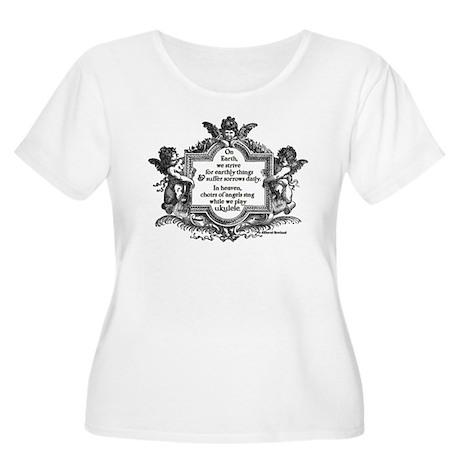 Ukulele Benediction Plus Size T-Shirt