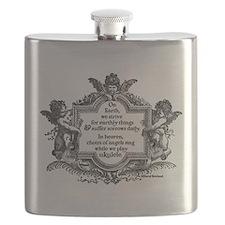 Ukulele Benediction Flask