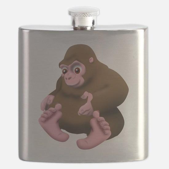 Baby Bigfoot Flask