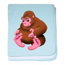 Baby Bigfoot baby blanket