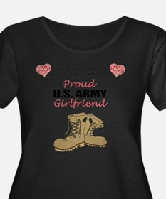 Proud US Army Girlfriend Plus Size T-Shirt