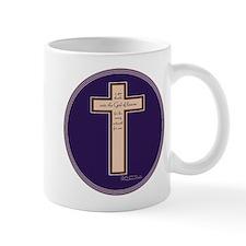 Psalm 136 26 Bible Verse Small Mug
