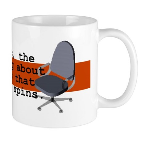 Spinning Chairs Work Mug Mug