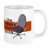Chair spin Small Mugs (11 oz)