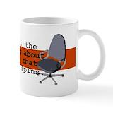 Chair spins Small Mugs (11 oz)