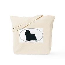 Komondor Silhouette Tote Bag