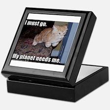 Super Cat Keepsake Box