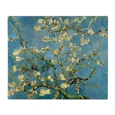 Van Gogh Almond Blossom Throw Blanket
