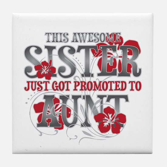 Promoted Aunt Tile Coaster