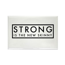 Strong is the New Skinny Rectangle Magnet