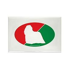 Hungary Flag Komondor Rectangle Magnet