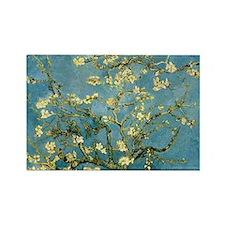 Van Gogh Almond Blossom Rectangle Magnet