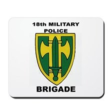 18TH MILITARY POLICE BRIGADE Mousepad