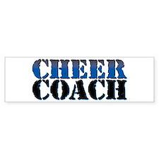 Cheer Coach Bumper Sticker