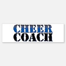 Cheer Coach Car Car Sticker